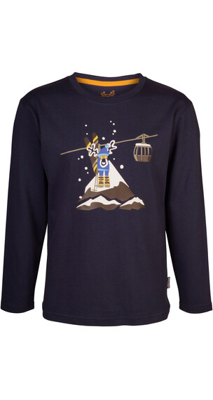 Elkline Schneeelk Longsleeve Junior blueshadow
